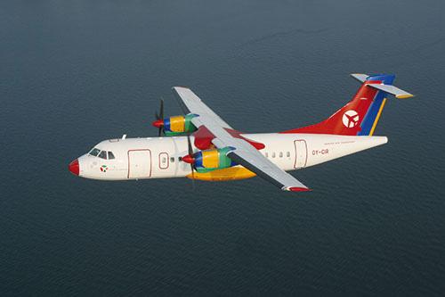 Bornholm med fly DAT